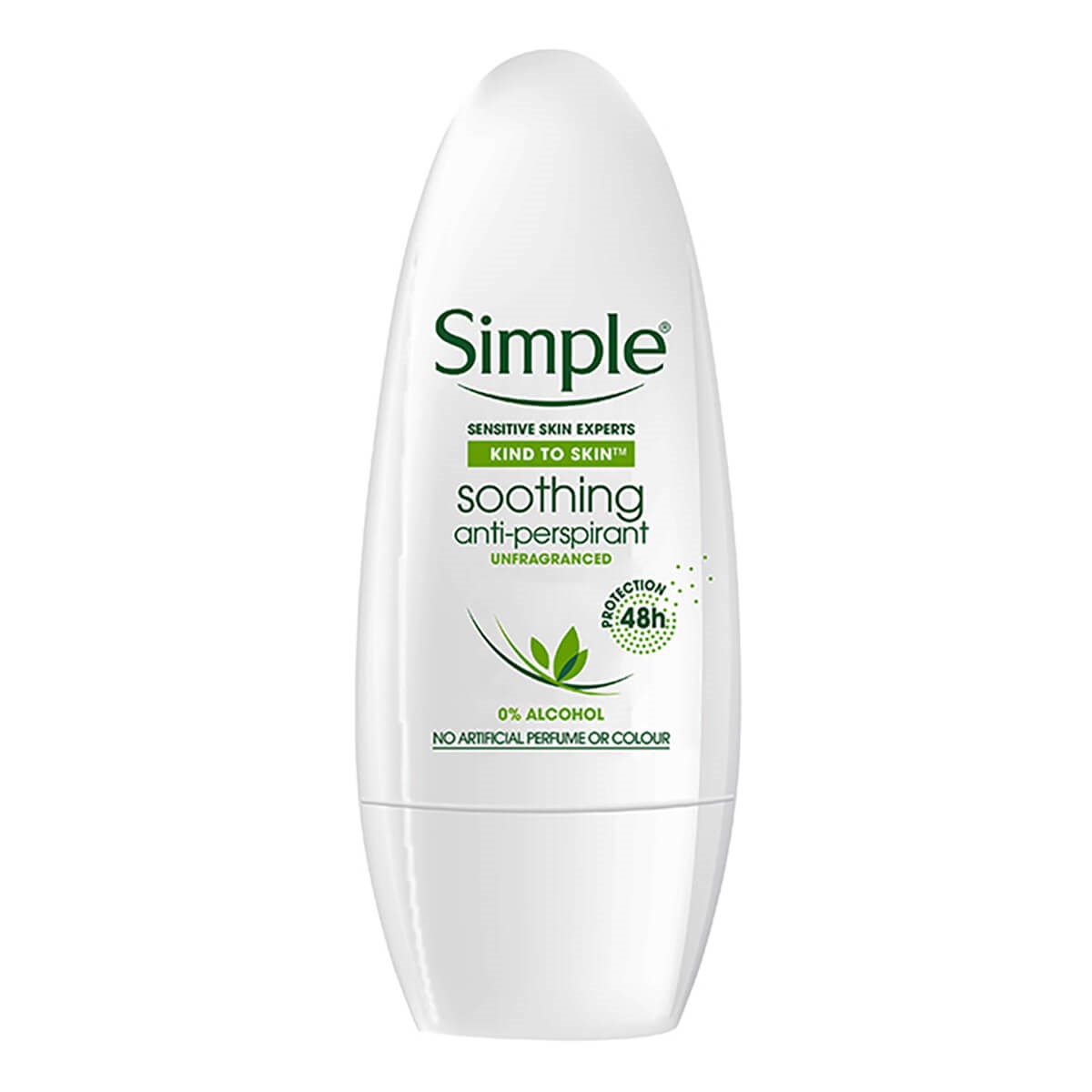 Simple Kind To Skin Anti-Perspirant Roll On
