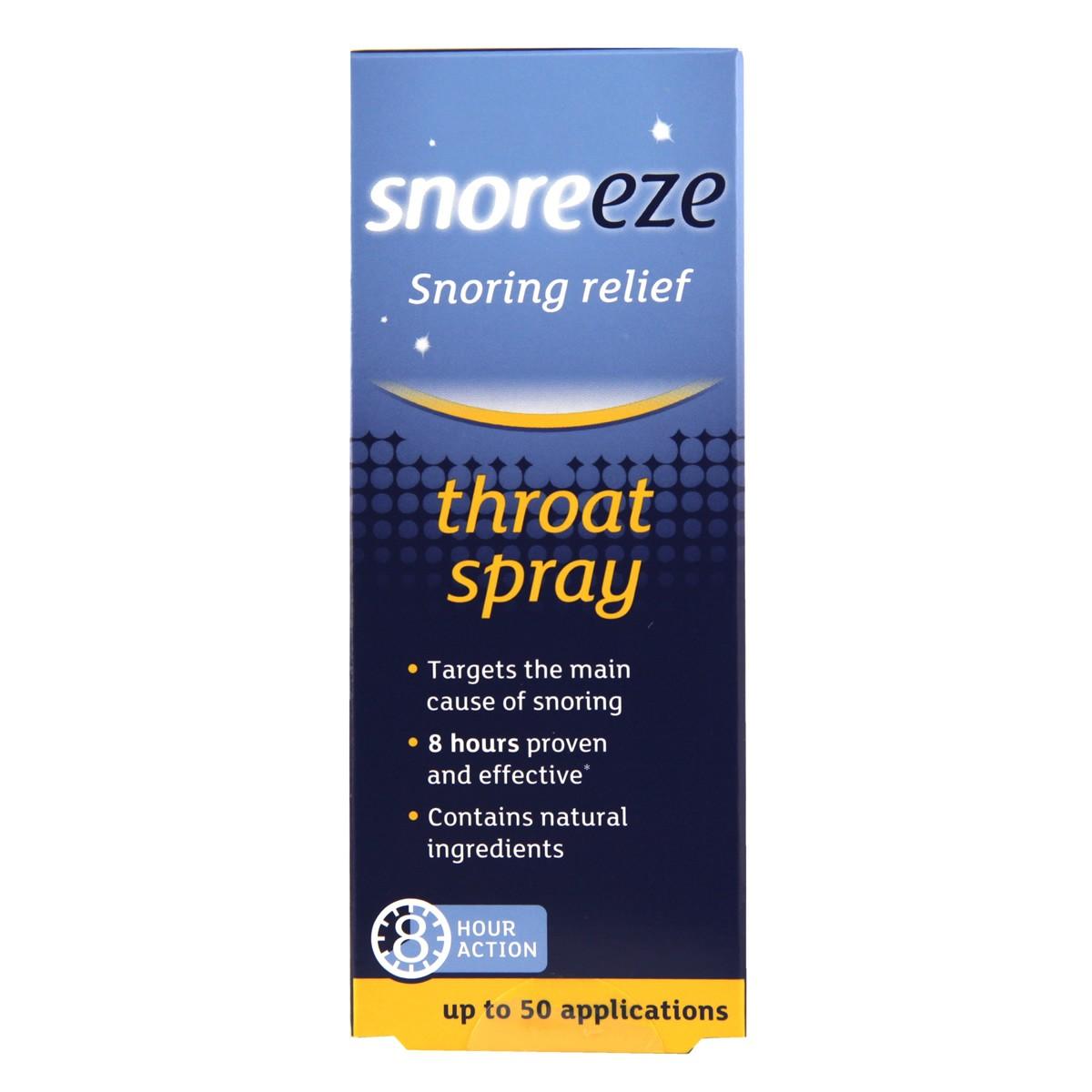 Snoreeze Snoring Relief Throat Spray