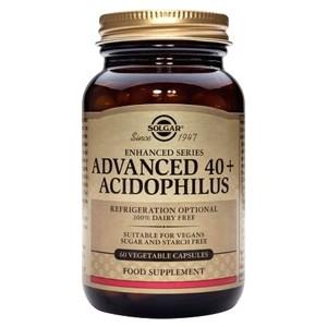 Solgar Advanced 40+ Acidophilus (Non-Dairy) Vegetable Capsules