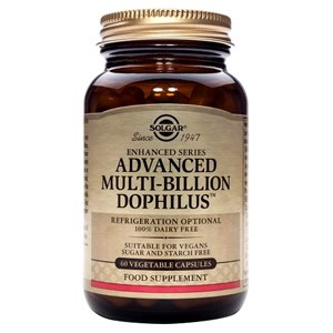 Solgar Advanced Multi-Billion Dophilus® (Non-Dairy) Vegetable Capsules