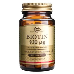 Solgar Biotin 300 µg Tablets
