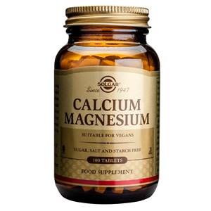 Solgar Calcium Magnesium Tablets
