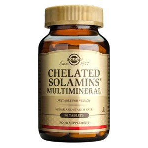 Solgar Chelated Solamins® Multimineral Tablets