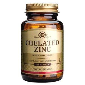 Solgar Chelated Zinc Tablets