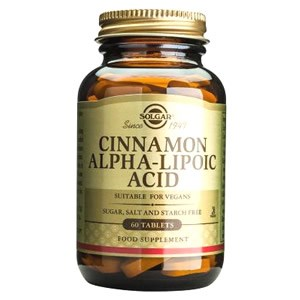 Solgar Cinnamon Alpha Lipoic Acid Tablets
