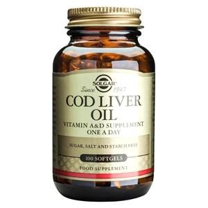 Solgar Cod Liver Oil Softgels