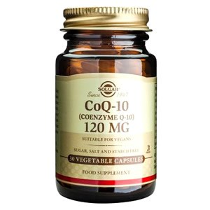 Solgar Coenzyme Q-10 120 mg Vegetable Capsules