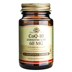 Solgar Coenzyme Q-10 60 mg Vegetable Capsules