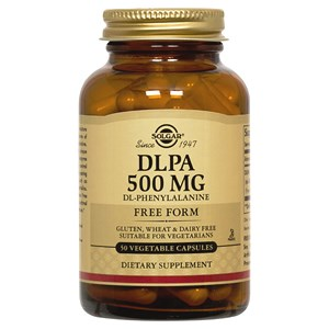 Solgar DLPA DL-Phenylalanine 500 mg Vegetable Capsules