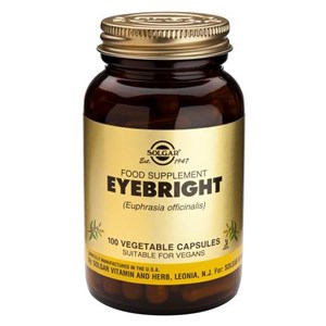 Solgar Eyebright Vegetable Capsules