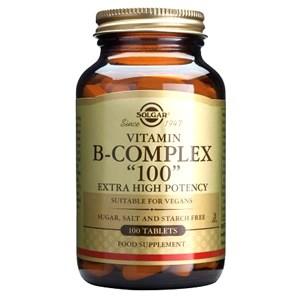 "Solgar Formula Vitamin B-Complex ""100"" Tablets"
