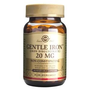 Solgar Gentle Iron® 20 mg Vegetable Capsules