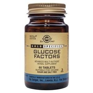 Solgar Gold Specifics Glucose Factors Tablets