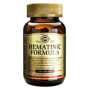 Solgar Hematinic Formula Tablets