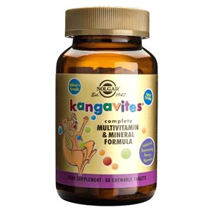 Solgar Kangavites® Multivitamin & Mineral Chewable Tablets Bouncing Berry