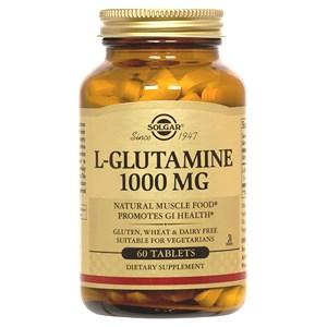 Solgar L-Glutamine 1000mg Tablets