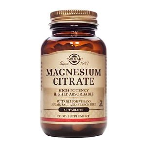 Solgar Magnesium Citrate Tablets