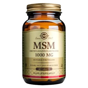 Solgar MSM 1000 mg Tablets