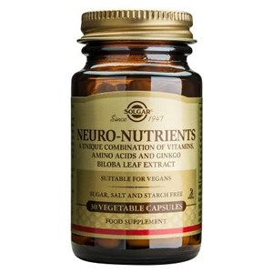 Solgar Neuro-Nutrients Vegetable Capsules