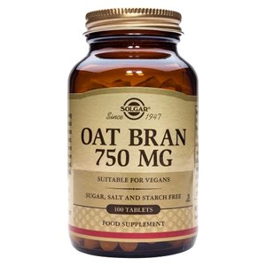 Solgar Oat Bran 750 mg Tablets