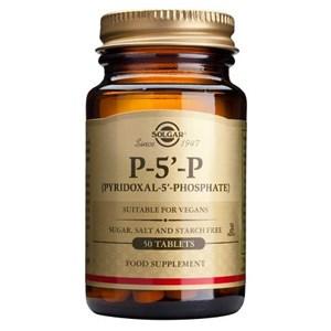 Solgar P-5'-P (Pyridoxal-5'-Phosphate) Tablets
