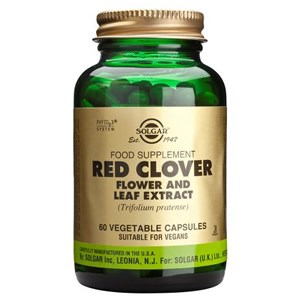 Solgar Red Clover Flower and Leaf Extract Vegetable Capsules