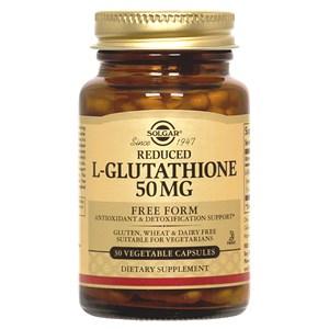 Solgar Reduced L-Glutathione 50 mg Vegetable Capsules