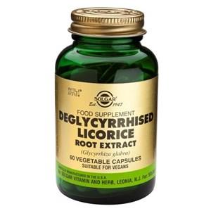 Solgar SFP Deglycyrrhized Licorice Root Extract Vegetable Capsules