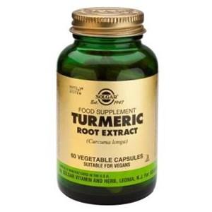 Solgar Turmeric Root Extract Vegetable Capsules