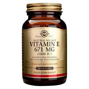 Solgar Vitamin E 671mg (1000iu) Softgels