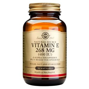 Solgar Vitamin E 268mg (400IU) Softgels