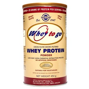 Solgar Whey To Go Protein Powder (Natural Chocolate)