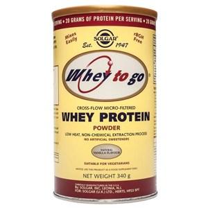 Solgar Whey To Go Protein Powder (Natural Vanilla)