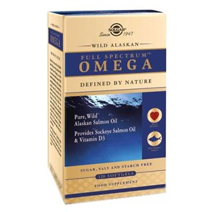 Solgar Wild Alaskan Full Spectrum Omega Softgels