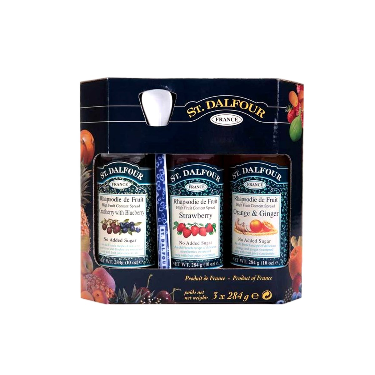 St. Dalfour Fruit Spread Gift Set with Spoon