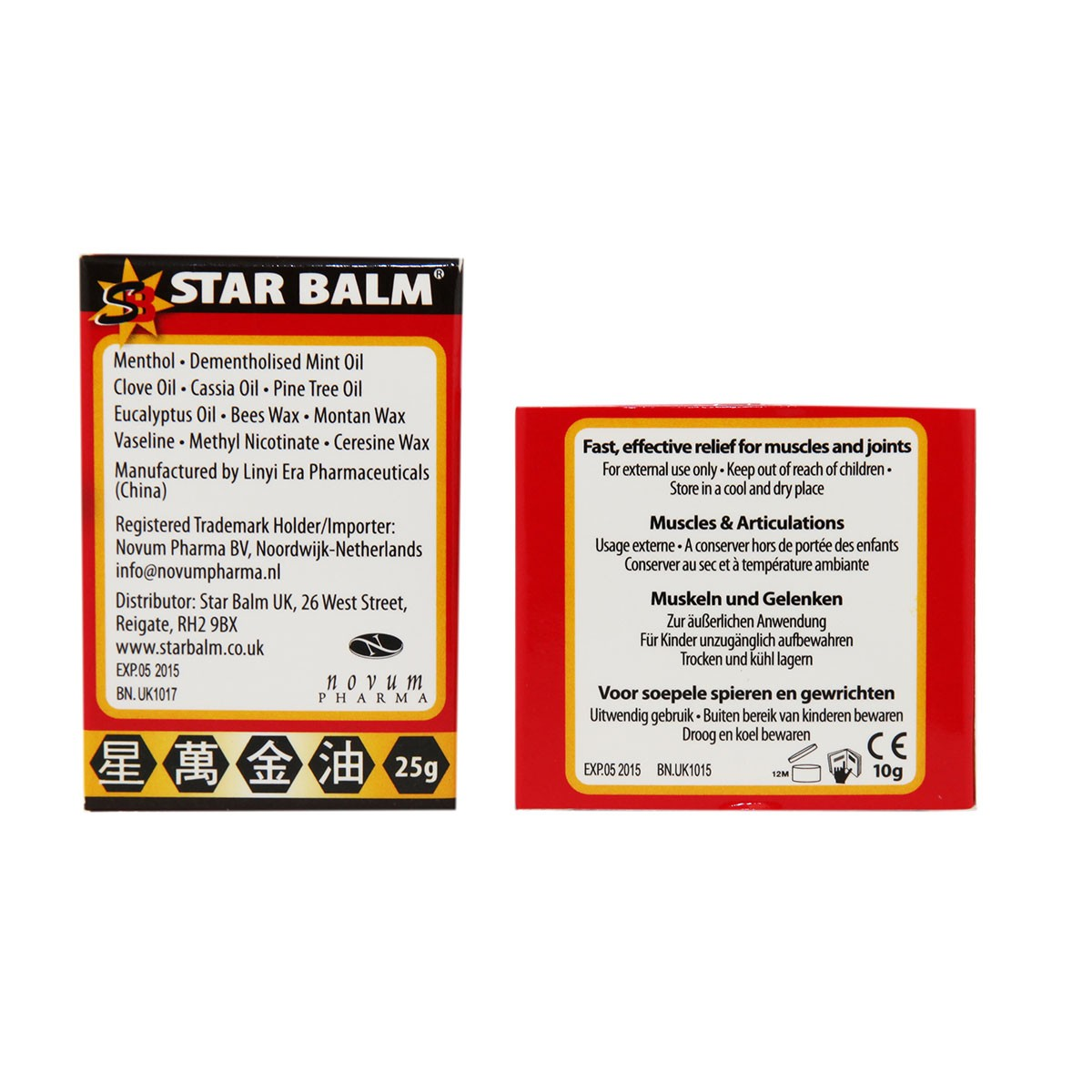 Star Balm Muscles and Joints Red Balm