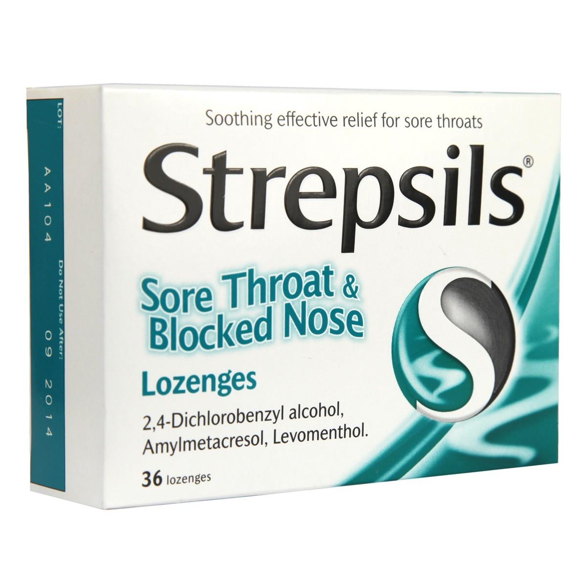 Strepsils Sore Throat & Blocked Nose
