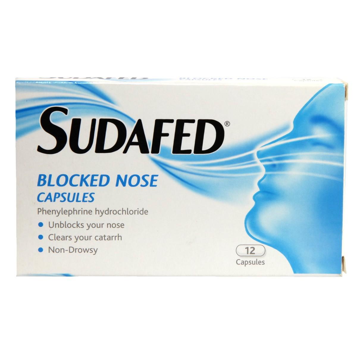 Sudafed Blocked Nose Capsules