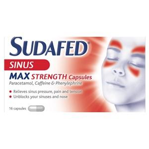 Sudafed Sinus Max Strength Capsules