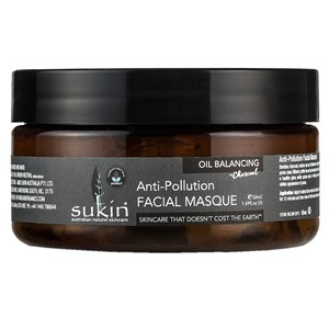 Sukin Oil Balancing + Charcoal Anti-Pollution Facial Masque
