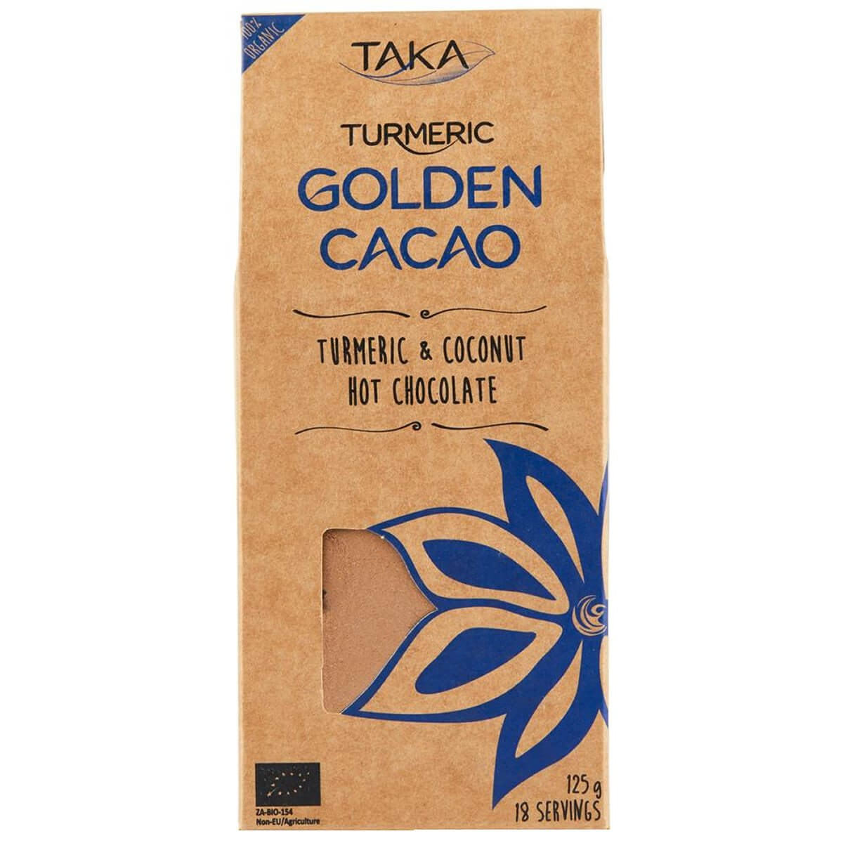 Taka Turmeric Golden Cacao Turmeric & Coconut Hot Chocolate