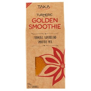 Taka Turmeric Golden Smoothie Turmeric Superblend Smoothie Mix