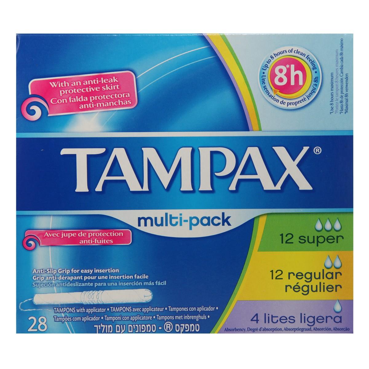 Tampax Multi-Pack Tampons