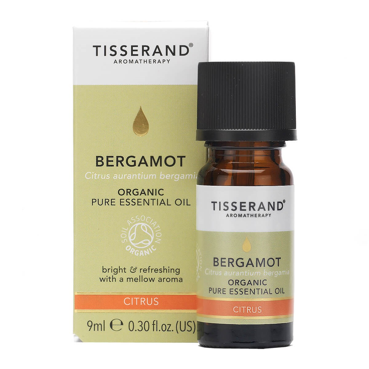 Tisserand Bergamot Organic Essential Oil