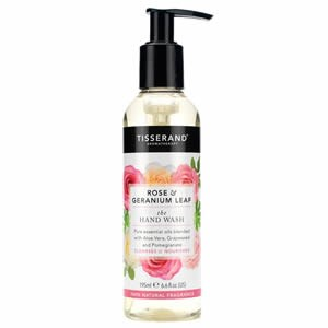 Tisserand Rose & Geranium Leaf The Hand Wash