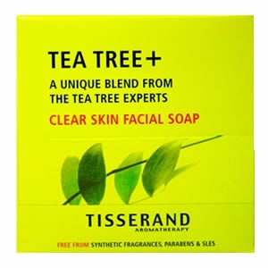 Tisserand Tea-Tree+ Clear Skin Facial Soap