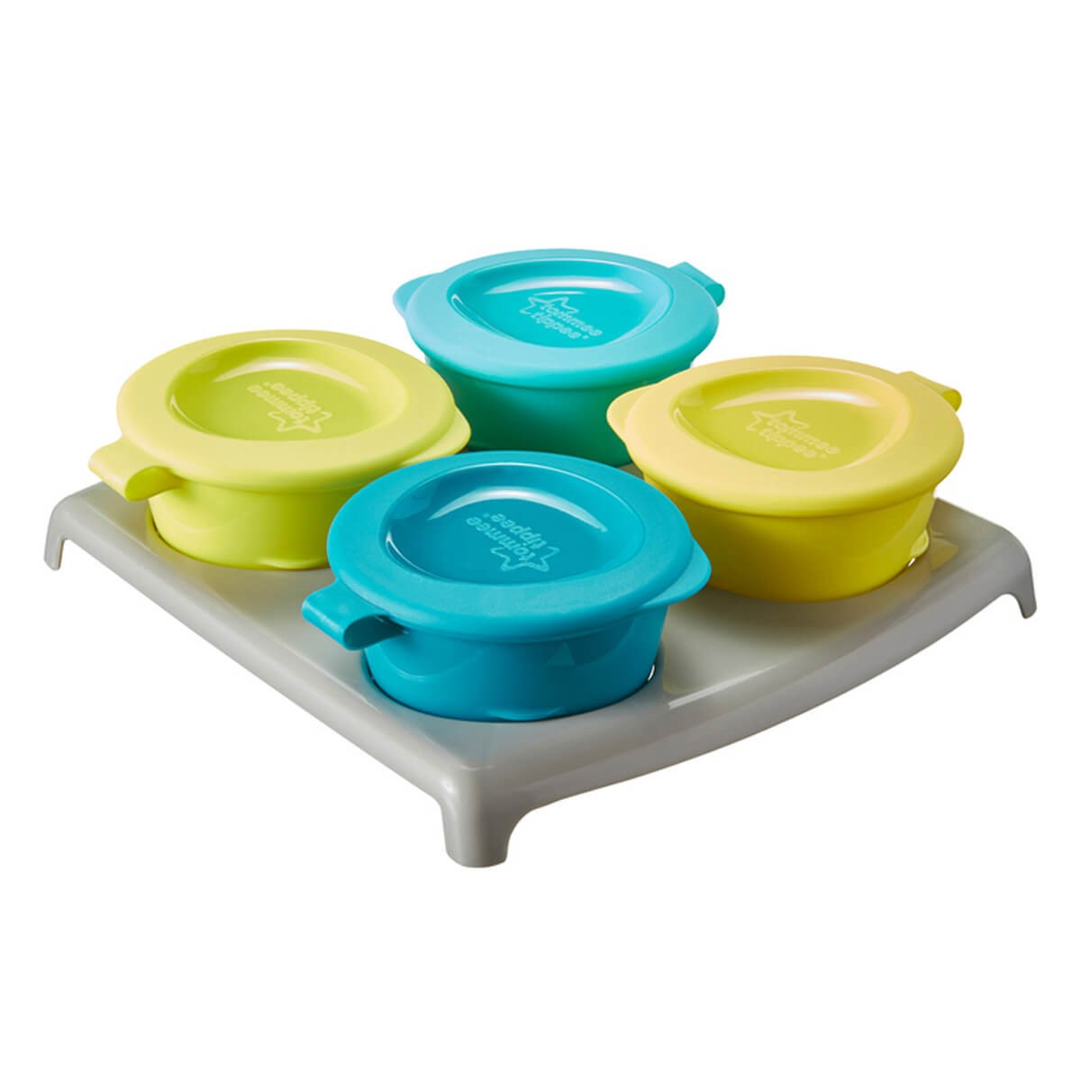 Tommee Tippee Explora 4 Pop Up Freezer Pots & Tray (4m+)