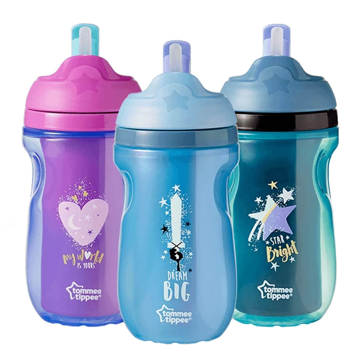 Tommee Tippee Insulated Straw Cup (12m+) 260ml