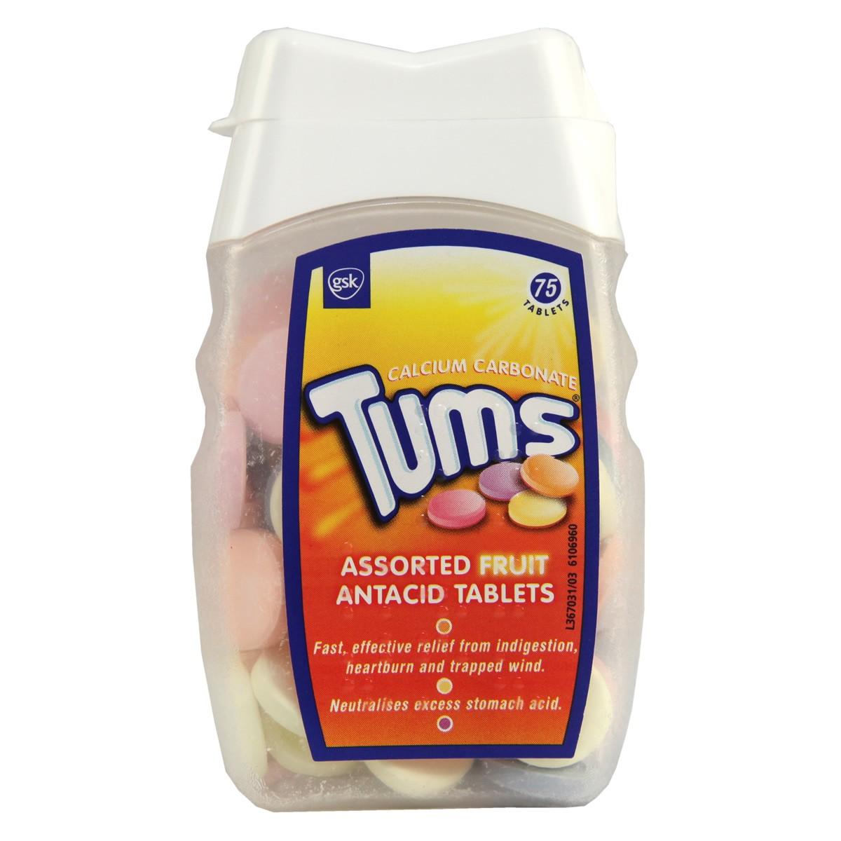 Tums Assorted Fruit Antacid Tablets
