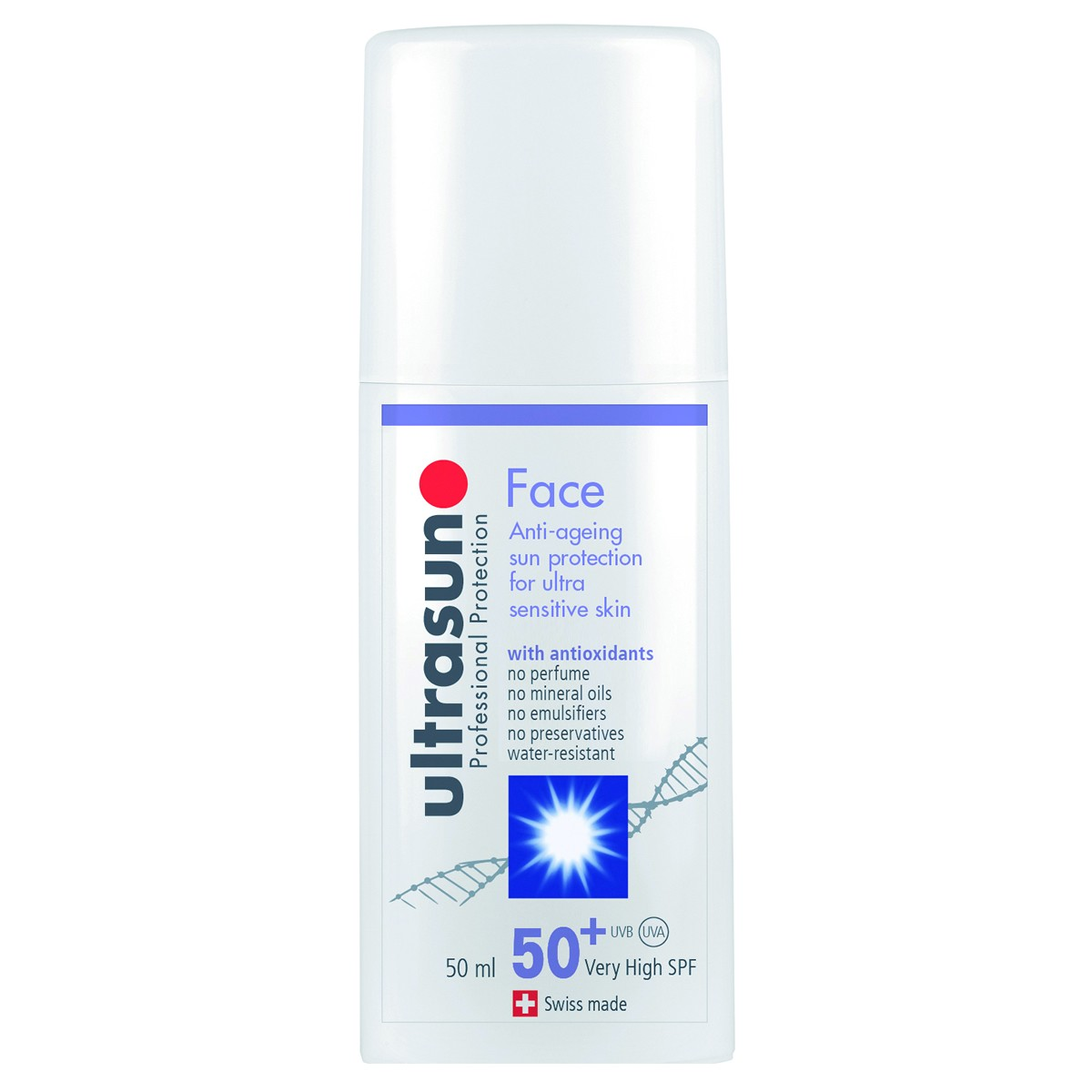 Ultrasun Face Anti-ageing Sun Protection for Ultra Sensitive Skin SPF50+